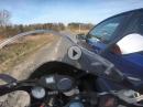 Gerammt und geiler Save - Aprilia RS vs. Auto - einatmen, ausatmen