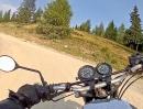 Gerlitzen Gipfelstrasse (Kärnten, Österreich) mit Honda CB500