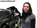 Gilles Tooling Motorradzubehör, vorgestellt von Nadja