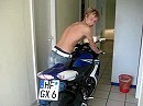 Motorrad Gixxer Wecker Suzuki GSX-R 750
