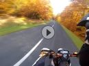 Goldener (Wheelie) Oktober mit KTM SMC R 690 Sumo fighters
