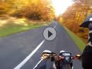 Goldener (Wheelie) Oktober mit KTM SMC R 690 Sumo fighters