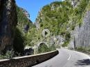 Gole val Taleggio auf der SP25 zwischen San Giovanni Bianco und Sottochiesa