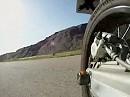 GoPro HD Hero an Schwinge von KTM 690 SMC