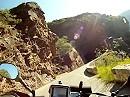 Gorges de Daluis Motorradreise durch faszinierende rote Felsen der Schlucht