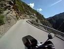 Gorges du Cians von der D28 hinauf nach Pierlas Traumstraße für Motorradtourer.