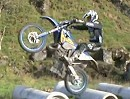 Graham Jarvis Motocross, Training Husaberg - extrem