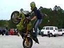 Grazy Drifting ! 180° Stoppies, Burnouts, Circle Wheelies