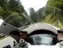 Grein - Dimbach, Oberösterreich mit Ducati 848 Evo