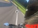 Grein-Dimbach Flottes Streetsurfing Hypermotard 821SP vs BMW S1000R
