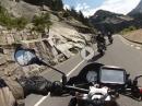 Grimselpass, Furkapass, Gletsch-Oberwaald mit Aprilia Tuono V4 1100 RR