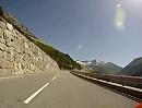 Grimselpass Motorradtour von der Walliserseite mit BMW F800R