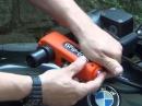 Griplock Motorrad-Schloss blockiert Gasgriff und Bremshebel