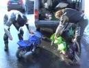 Minibikes Grober Unfug im Winter