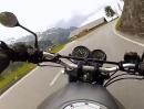 Großglockner Hochalpenstraße (Österreich) Honda CB500