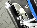 Hurric Endtopf ohne DB Killer an Suzuki GSXR 1000 Kilo K1