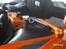 Günstige Brems- und Kupplungshebel / Nachbauverkleidung vorgestellt von Jens Kuck