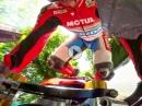 Guy Martin Crash auf der TT2017, Leerlauf, Bordstein, Abflug