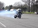 GuyGuy mit Suzuki Hayabusa Turbo - Leck schiebt das Teil Yess