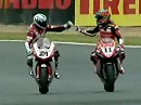 Haga vs. Bayliss - vom Feinsten - Superbike-WM 2008 Magny Cours
