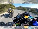 Hahn auf Zug: Yamaha R6 GPS Data Overlay, Akra Full Race