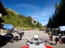 Hahntennjoch Richtung Imst mit Ducati Monster