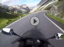 Hahntennjoch von Pfafflar bis Imst mit Honda CBR600F