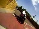 Halle Saale Schleife onBoard - Ducati Monster in der OPEN RACE 2 - Nagel im Kopp