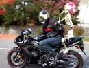 Halloween auf dem Motorrad :-) Kaum Luftwiederstand