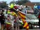 """Kevin Schwantz: """"Halt die Flagge raus Du Arsch ..."""" - 1992 GP England 500ccm"""