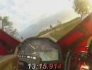 Speedy: Hamburg Schnelsen nach Förden Barl ca.14:15min CBR600RR mit Yoshimura RS 5