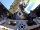 HAMMER Niccolo Canepa (Superstock-WM) onboard Lap Jerez Ducati 1199 Panigale angedrückt