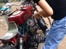 Handwerkskunst ;-) Diesel Motorrad - Wer kennt die Marke? Eigenbau?!
