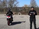 Handzeichen Motorrad, welche gibt es und was bedeuten sie?