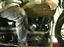 Harley 1928 8 Valve auf dem Prüfstand