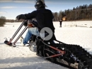 Harley Chopper Snowmobile - Langgabler im Schnee = Schee | Kioskmongo.se