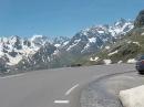 Harley - Col du Galibier über Gipfel Richtung Col Du Lautaret
