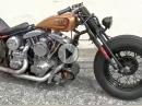 Harley Davidson '80 Shovelhead Chopper - Mega Eisen, Sound geil