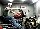 Harley-Davidson Blackline FXS 2011 auf dem Prüfstand von Cycleworld