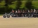 Harley Davidson Bus? 10 Personen haben da locker Platz!