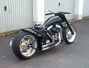 Harley Davidson Custom Bike Soundcheck - schöner Umbau