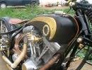 Harley Davidson Old School Umbau aus Taiwan - Kann was!