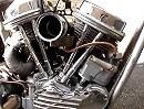 Harley Davidson Panhead 1954 Chopper - Es läuft - Minimalismus