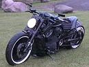 Harley Davidson VRSCB V-Rod Custombike von Fredy.ee - schwarz wie die Nacht!