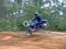 Harley Dirtbike - Nix für Harley Fans - abgefahrener Typ