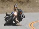 Harley Knieschleifen - der Junge beherrscht sein Handwerk!