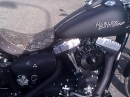 Harley Street Bob mit Jet Air Cleaner und Miller Slip On