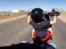Harley Nachwuchs - 6jähriger fährt Harley - Bekleidung: artgerecht