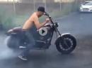Harley Speed Donut - gekonnt, ist gekonnt