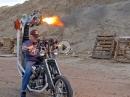 Harleyumbau: Dragon Fire - Chopper mit Maschinengewehren - die spinnen die Amis ;-)
